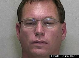 Joseph Lamar Conn, 49, was arrested by the Ocala Police Department for allegedly sunbathing naked on his porch while holding a rubber penis. Conn is a registered sex offender.