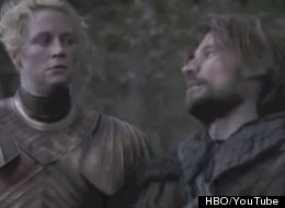 Brienne and Jaime have an excellent adventure in romantic comedy