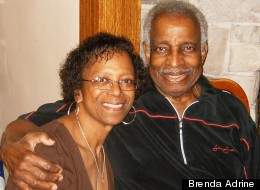 Brenda and Wister Adrine got some help with his prescription drug costs under President Barack Obama's health care reform law. A Supreme Court decision overturning the law would eliminate that assistance.
