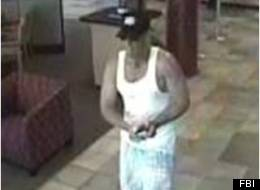 The FBI is seeking information leading to the arrest of a suspected bank robber called the