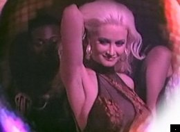 Holly Madison makes a cameo in Steve Aoki's video for