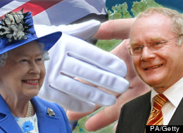 The monarch will shake hands with the Stormont deputy first minister - a former IRA commander - on Wednesday in a gesture which will herald a milestone in Anglo-Irish relations.