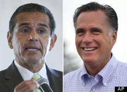 Los Angeles Mayor Antonio Villaraigosa said that Governor Mitt Romney had
