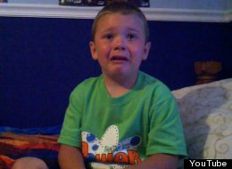 A young White Sox fan takes the news of Brent Lillibridge's trade hard. (YouTube)