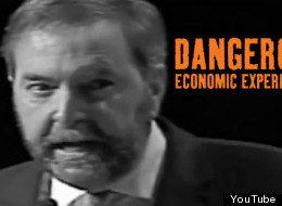 The Tories have released a new ad attacking NDP leader Thomas Mulcair.
