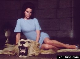 A still from Lana Del Rey's video for