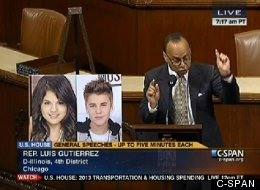 Rep. Luis Gutierrez asks, Can you tell who's an immigrant?
