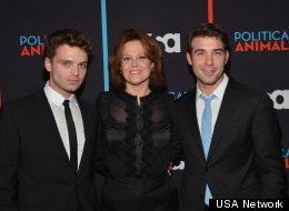 Sebastian Stan, Sigourney Weaver and James Wolk at the
