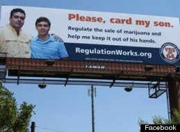 Campaign To Regulate Marijuana Like Alcohol's latest billboard in Denver aimed at parents.