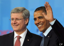 """Prime Minister Stephen Harper and Obama have an """"excellent relationship,"""" says Foreign Affairs Minister John Baird. THE CANADIAN PRESS/Sean Kilpatrick"""