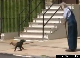David Turner's neighbors say he has too many animals and they are pooping on their lawn. Because he lives in Weehawken, N.J. and his neighbors live in Union City, he's been able to avoid getting in trouble.
