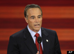 Chris Collins of Buffalo, N.Y. speaks at the Republican National Convention in 2008.