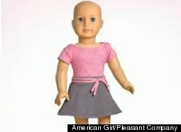 American Girl now offers dolls without hair for children suffering from hair loss.