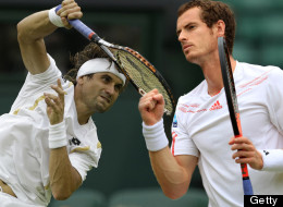 Andy Murray will take on David Ferrer in the Wimbledon quarter-finals on Wednesday