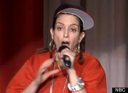 Tina Fey: Mom, showrunner, comedian, rapper.