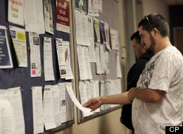 Canada's unemployment rate fell in June to 7.2 per cent, from 7.3 per cent in the previous month, Statistics Canada reported Friday. (AP Photo/Matt York)