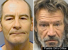 Richard Sheppard, pictured left, and Hugh Smith, pictured right, arrested for allegedly killing Michael