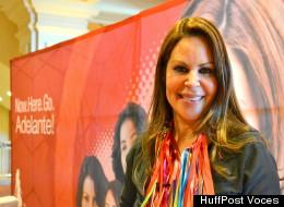 Nely Galán presenta The Adelante Movement para el empoderamiento de la mujer latina.