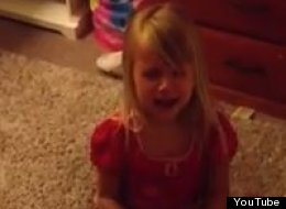 A four-year-old girl is filmed crying when her mother breaks the news that Steve Nash will no longer play for the Phoenix Suns.