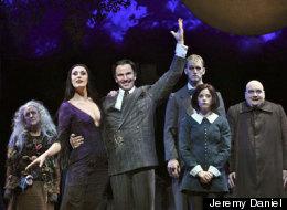 'The Addams Family' Cast: Pippa Pearthree, Sara Gettelfinger, Douglas Sills, Tom Corbeil, Cortney Wolfson and Blake Hammond