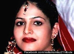 A photo of Naila Mumtaz from her Facebook memorial page.