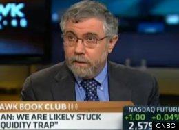 Paul Krugman slammed CNBC just after appearing on it for regurgitating