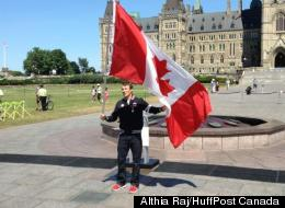 Triathlete Simon Whitfield has been named as Canada's flagbearer at the London Olympics.