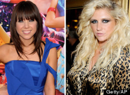 Carly Rae Jepsen & Ke$ha used to be quite different.