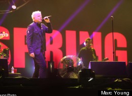 Offspring au Festival d'été de Québec, le 14 juillet 2012. (Crédit photo: Marc Young)