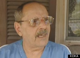 Tom Guzzi, 71, was able to defend his home from armed robbers using quick-thinking and a kitchen pot.