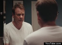 Kiefer Sutherland is the star of ... an Axe commercial.