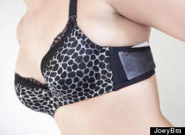 The JoeyBra, a bra with pockets, is one of many products that nabbed funding on Kickstarter and is now available for purchase online.