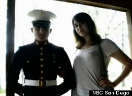 Lance Cpl. Cory Killgore and his wife, Brittany, who was murdered back in April. Recently issued warrants suggest she was targeted by a sex ring.