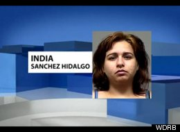 Louisville, Ky. resident India Sanchez Hidalgo was charged with trafficking stolen identities after she tried to order a pizza with a stolen credit card.