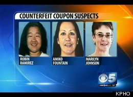 Robin Ramirez, Amiko Fountain and Marilyn Johnson were arrested for their alleged role in the operation of a $40 million counterfeit couponing ring.