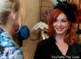 Actress Christina Hendricks showed off her vintage fav's with Laura Brown on episode two of BAZAAR's YouTube show
