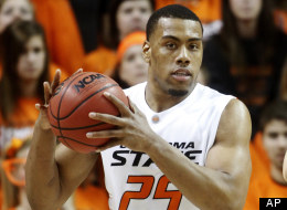 In this photo taken Jan. 26, 2011, Oklahoma State forward Darrell Williams is pictured during an NCAA college basketball game against Texas in Stillwater, Okla.