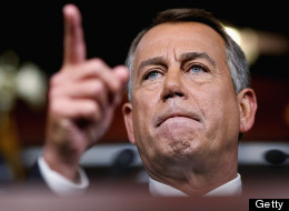 Speaker of the House John Boehner (R-OH).