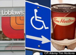 The federal government is putting together a task force to figure out how to get more people with disabilities employed in meaningful work. The Canadian Press has learned that the task force will include executives from companies such as Loblaws and Tim Hortons, and will be led by Kenneth Fredeen of Deloitte and Touche. (CP/Alamy/Tim Hortons)