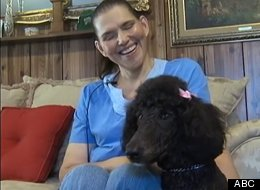 Pooh, a seeing-eye poodle, saved owner Nancy Jones from a gas leak in her Alabama home.