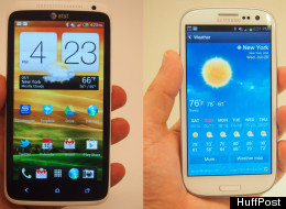 The HTC One X (left) and the Samsung Galaxy S3, two smartphones that you should feel comfortable buying right now.