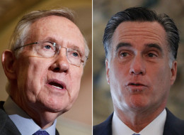 Harry Reid, the Senate majority leader, ratcheted up the speculation about Mitt Romney's unreleased tax returns.