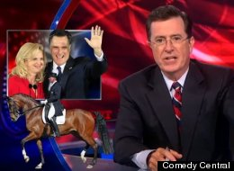 Stephen Colbert thinks that it would <i>behoof</i> Romney to make an unorthodox VP pick.