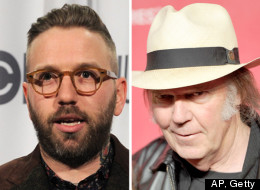 Dallas Green says performing in front of Neil Young was cool enough. (AP, Getty)