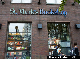 Facing foreclosure, the 35-year old St. Mark's Bookshop in New York's East Village is crowdfunding to survive. Credit: Damon Scheleur