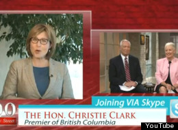 B.C. Premier Christy Clark said the bible helps her make difficult decisions in an interview with the Christian TV show