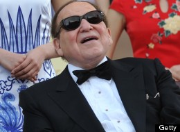 Chairman and CEO of Las Vegas Sands Corporation Sheldon Adelson. AFP PHOTO / AARON TAM