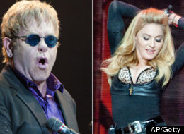 Elton John vuelve a insultar a Madonna