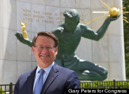 Congressman Gary Peters will run against Congressman Hansen Clarke in the new 14th Congressional District in the Michigan August primary. (Courtesy Gary Peters for Congress).