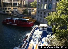 At least nine were injured when this Wendella tour boat crashed into a dock on the Chicago River.